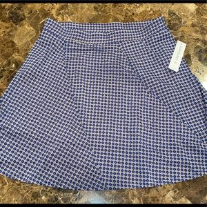 NWT Cute blue skirt, size women's large